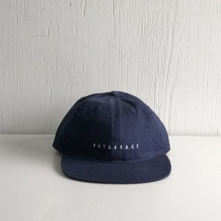 BAYGARAGE Six Panel Cap<br>New Logo <br>Navy