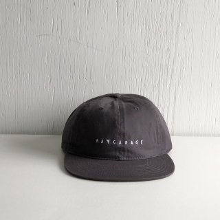 BAYGARAGE Six Panel Cap<br>New Logo <br>Chacoal