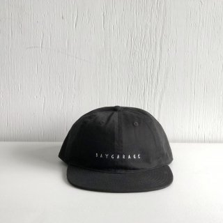 BAYGARAGE Six Panel Cap<br>New Logo <br>Black