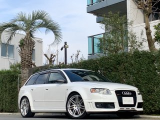 2008 Audi RS4 Avant Quattro<br/>LHD 6MT V8 4.2L 420ps <br/>Leather Sunroof