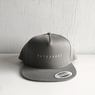 BAYGARAGE 5 Panel Cap<br>New Logo <br>Gray