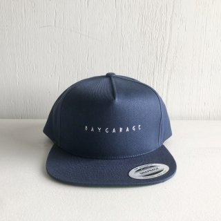 BAYGARAGE 5 Panel Cap<br>New Logo <br>Navy
