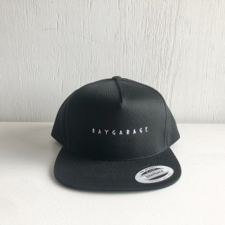 BAYGARAGE 5 Panel Cap<br>New Logo <br>Black