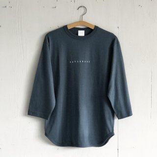 BAYGARAGE <br>3/4 Sleeve Baseball T <br>Denim
