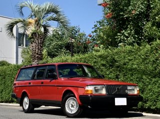 1990 Volvo 240 Estate GL Limited</br>1 owner / 横浜33 Plate </br>All maintenance records