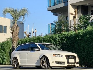 2008 Audi RS4 Avant Quattro<br/>White Style LTD 6MT V8 <br/>41,000km LHD 4.2L 420ps