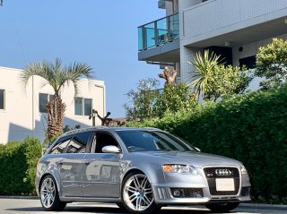 2007 Audi RS4 Avant Quattro<br/>RHD 6MT<br/>V8 4.2L 420ps