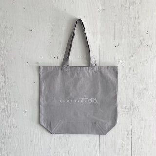 BAY GARAGE Canvas Tote Bag <br>Drop Bars<br>Sky Gray