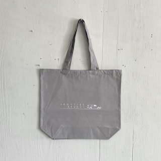BAY GARAGE Canvas Tote Bag <br>Shooting Brakes<br>Sky Gray