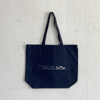 BAY GARAGE Canvas Tote Bag <br>Shooting Brakes<br>Navy