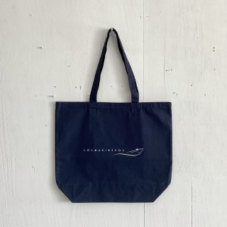 BAY GARAGE Canvas Tote Bag <br>Los Marineros<br>Navy