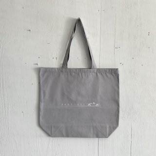 BAY GARAGE Canvas Tote Bag <br>Drop Tops<br>Sky Gray