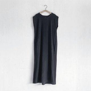 BAYGARAGE「Navy Tag」<br>Wave Pile Dress <br>Black