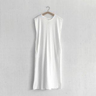 BAYGARAGE「Navy Tag」<br>Wave Pile Dress <br> White
