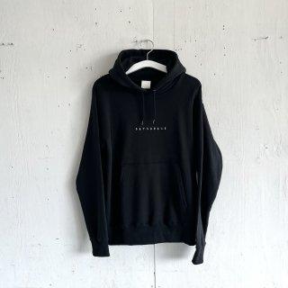 BAYGARAGE  Pullover Hoodie <br> Embroidered Logo <br>Black