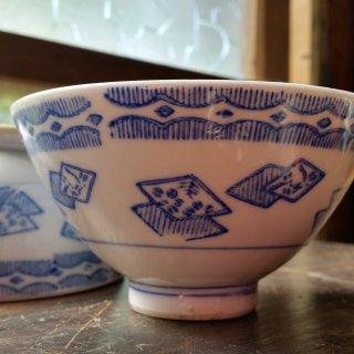 摺絵茶碗 菱とんぼ/1個