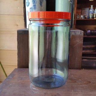 昭和ガラスの保存瓶(中)