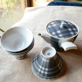 SHOWA陶器 レトロなお茶セット