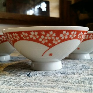 桜の花のお茶碗 1個