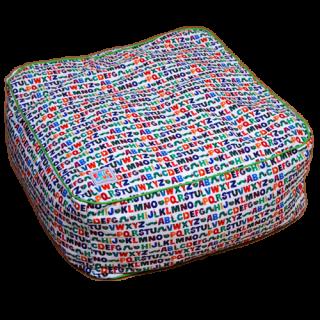 ベッド/エリック・カール/アルファベット/角型