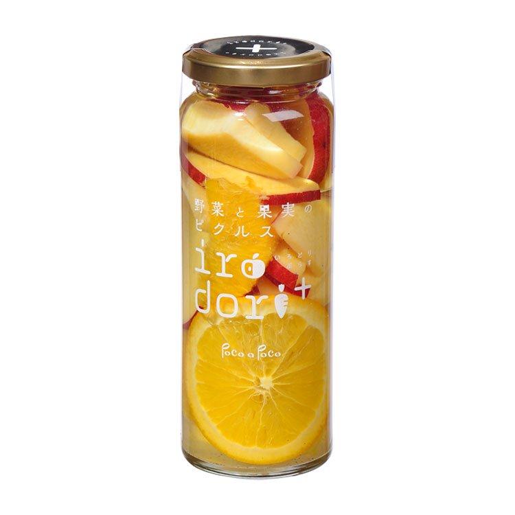 三島甘藷とオレンジのピクルス