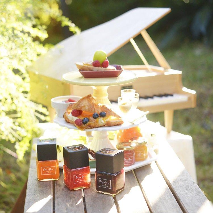 バレンシアオレンジのマーマレード マニキュアスタイル