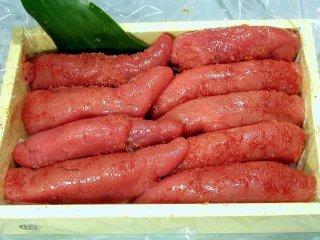 博多名産 かねふくの辛子明太子1kg