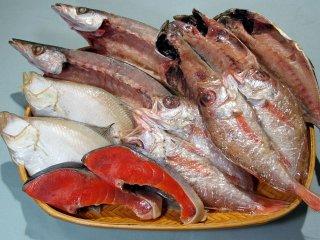塩紅鮭と島根特産の干物セット