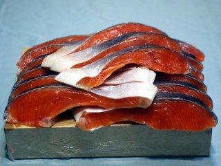 【チリ産】 中塩銀鮭切り身(15切)箱詰め