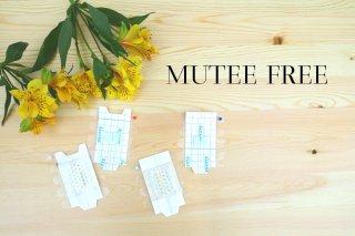 消音シート MUTEE FREE