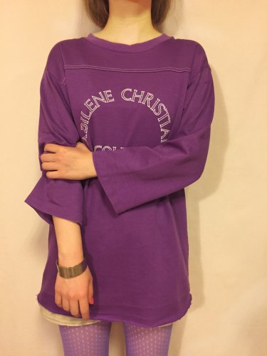 vintage ARTEX(70's)purple top