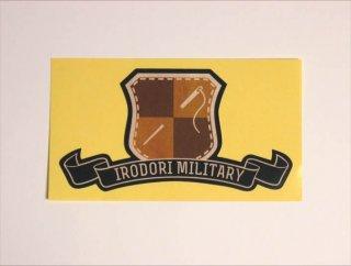 irodori military ステッカー