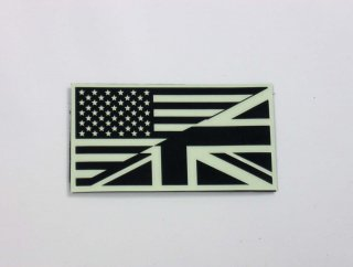 <img class='new_mark_img1' src='https://img.shop-pro.jp/img/new/icons41.gif' style='border:none;display:inline;margin:0px;padding:0px;width:auto;' />蓄光:US UK flag patch