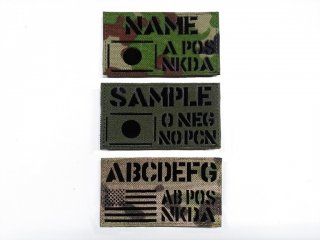 [受注生産]Name Patch - US