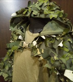 Leafy Ghillie MCTP/JGSDF Camo