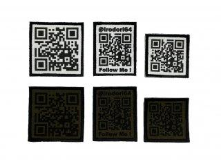 【受注生産】QRcode Patch