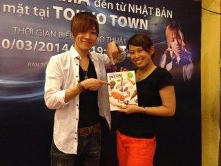 海外 ベトナムの雑誌の取材を受けました♪( ´▽`)