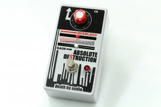 【new】 DEATH BY AUDIO ABSOLUTE DESTRUCTION