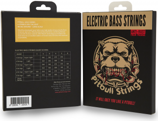 Pitbull Strings for 6strings E.Bass【送料無料】