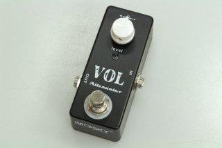 【new】MOSKY AUDIO Micro Pedal black VOL ATTENUATOR(Signal Pad)