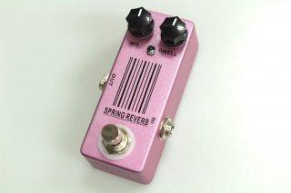 【new】MOSKY AUDIO Micro Pedal pink Spring REVERB (Malekko Spring Reverb)