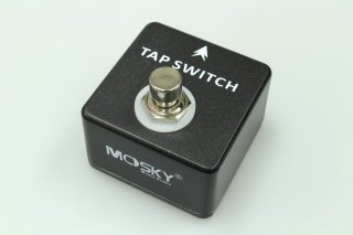 【new】MOSKY AUDIO Micro Pedal black Tap Tempo Switch