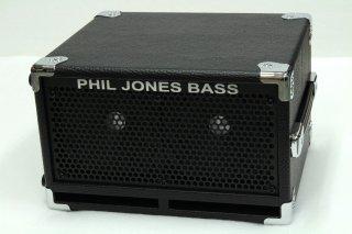 【new】Phil Jones Bass BC2 BassCabinet BK