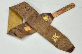 LK Straps Distorted Brown With Spray Paint Tail Strap