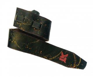 LK Straps Black With Multi Paint Splatter Strap