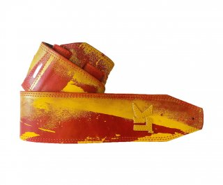 LK Straps Spray Paint Red Orange Fire