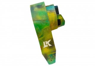 LK Straps Spray Paint Green Yellow Purple