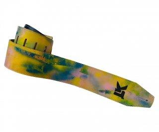 LK Straps Spray Paint Blue Yellow Pink