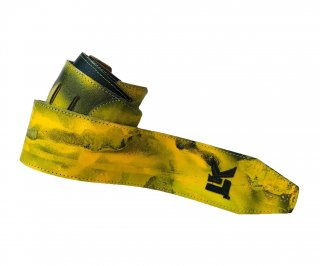 LK Straps Spray Paint Yellow Brown Snake
