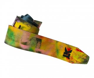 LK Straps Spray Paint Yellow Green Red